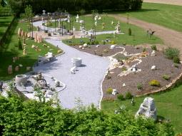 Unser Schaugarten im Frühling 2005