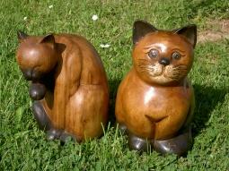 Holzkatzen