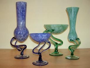diverse Glasschalen