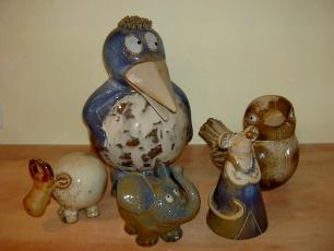 Keramikfiguren für innen und außen